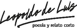 Premio  Leopoldo de Luis Logo